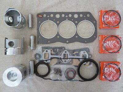 Yanmar 3TNC78 Overhaul / Rebuild Kit (Full Gasket Set. Pistons, Rings)