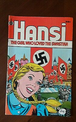 Hansi : The Girl Who Loved The Swastika - 39 cent cover- Spire Christian Comics