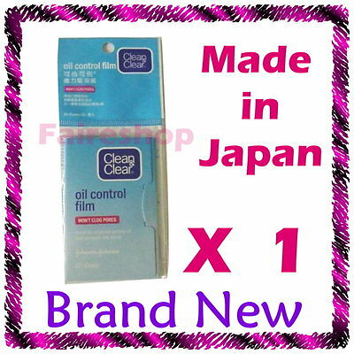 Clean & and Clear Oil Control Face Film Blotting Paper Skin Oil Absorb Ances