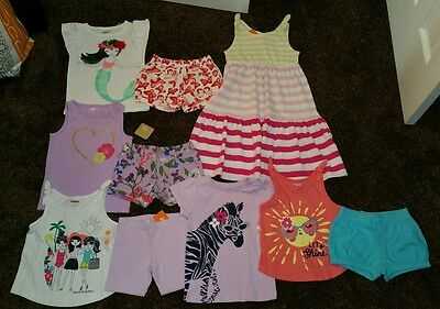 NWT Size 3T Lot of Summer CLOTHES and OUTFITS Gymboree dress