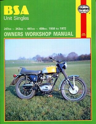 BSA C 15 (UK) 1958-1967 Manuals - Haynes (Each)