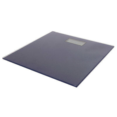 Digital Bathroom Scale -Ultra Slim Glass Electronic Weight Scales Navy 180kg