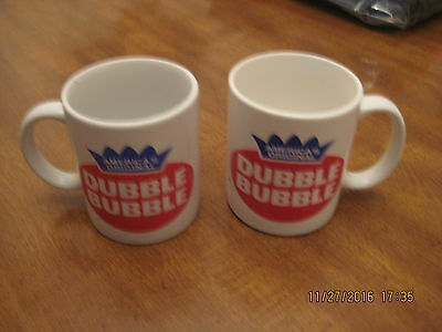 Pair of Dubble Bubble Coffee Mugs