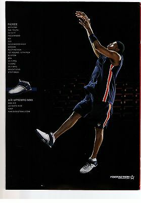 "2003 Nike Dirk Nowitzki and Paul Pierce ""Uptempo' Basketball Shoe Print Ad"