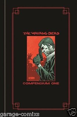The Walking Dead Hardcover Compendium 1 (Red Gold Foil Version) SDCC New Sealed