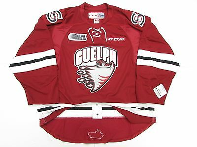 Guelph Storm Ohl Authentic Pro Ccm Edge 2.0 7287 Hockey Jersey Size 56