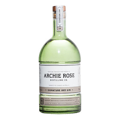 ARCHIE ROSE GIN 700ml 40% alc