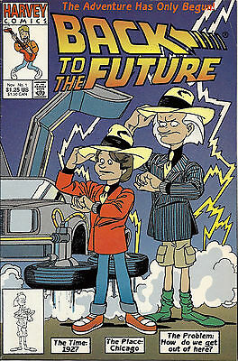 Back to the Future #1 (1991 Harvey) FN/VF, Gil Kane cover, 1st Marty McFly & Doc