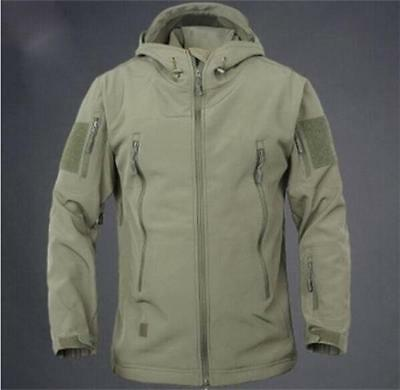 2017 Men Women Army Military Tactical Jacket Soft Shell Waterproof Hunting Coat