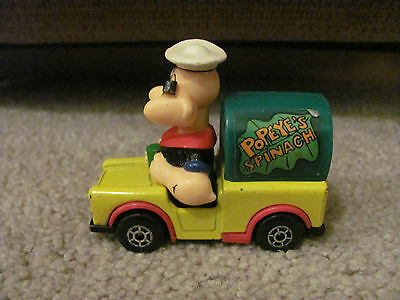 Popeye the Sailor Man Matchbox Spinach Truck 1980 Lesney Character Series 13