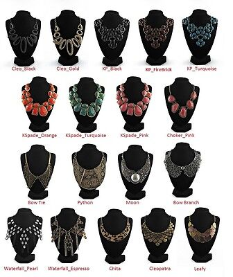 WHOLESALE Lot of 15 - PICK AND MIX - Celebrity Necklace Jewellery CLOSING DOWN