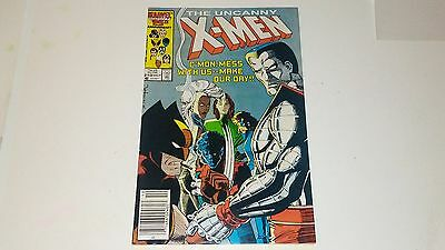 Uncanny X-Men #210 & #211..mutant Massacre Begins...2 Comics...x Men #210 & #211