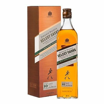 JOHNNIE WALKER 10yr RYE CASK FINISH  700ml 46% alc