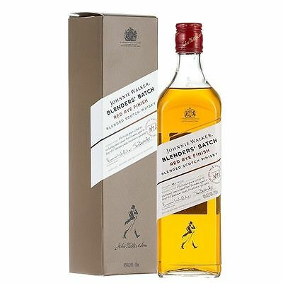 JOHNNIE WALKER RED RYE FINISH  700ml 40% alc