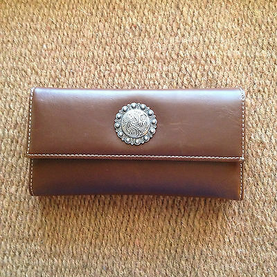 Western Style Concho Wallet