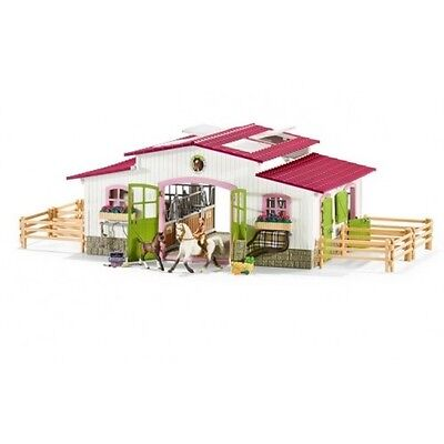 Schleich Model Horse Accessory 42344 - Riding Centre With Accessories