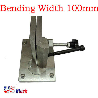 USA - Dual-axis Metal Channel Letter Aluminum Angle Bender Bending Tool 100mm