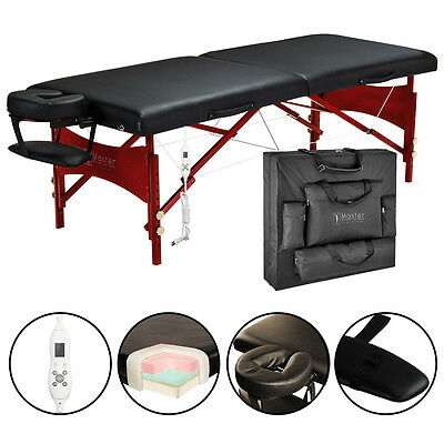 "Master Massage 30"" Inch Roma Therma Top Table Portable Package bed couch"