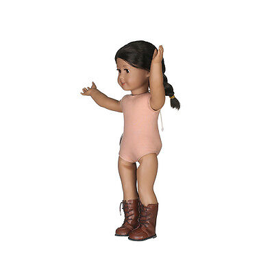 gift for kid fashion boot shoes for 18inch American girl doll party N411
