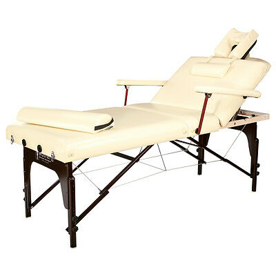 Master Masage 31'' inch Samson Salon SPA Lift Back Portable liftback Table Bed