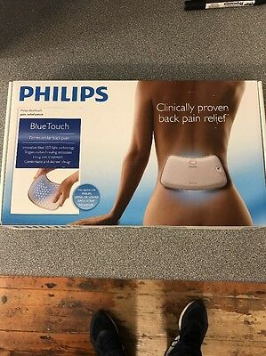 Philips BlueTouch Pain Relief Patch Muscular Back Wireless Blue LED PR3092/00