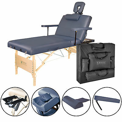 "Master Massage 31"" inch 3 section Coronado Tilt Salon Portable Table Package"