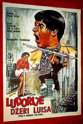 Who's Minding The Store? 1960' Jerry Lewis Jill St. John Exyu Rare Movie Poster