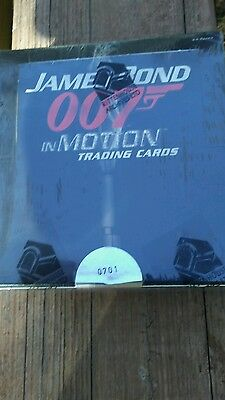 james bond in motion card box