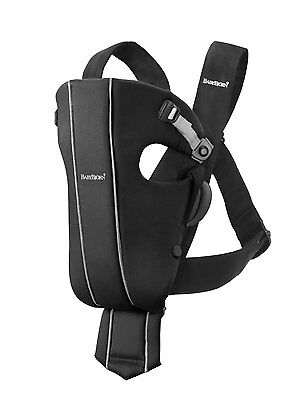 NEW...BabyBjorn Baby Carrier Original, Black Spirit, Cotton, Free Shipping