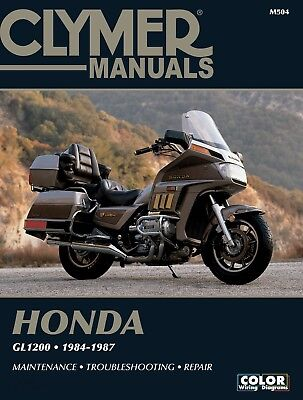Honda GL 1200 L Gold Wing (Limited) (EFI) (USA) 1985 Manuals - Clymer (Each)