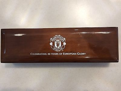 Manchester Utd. 'Celebrating 40 Years of European Glory' limited edition watch.