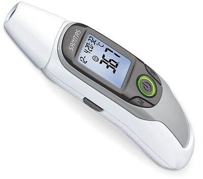 SANITAS Thermomètre de fièvre SFT75 auriculaire frontal Babythermometer