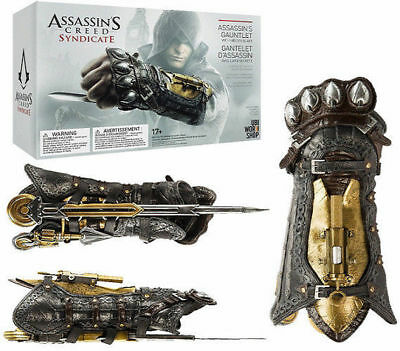 Assassin's Creed Syndicate 1:1 Gauntlet Hidden Blade Toys Giocattolo Cosplay