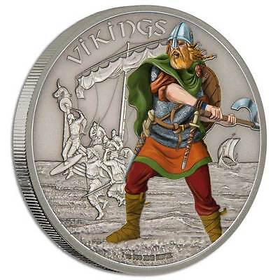 2016 Warriors of History - Vikings 1oz Proof Silver Coin