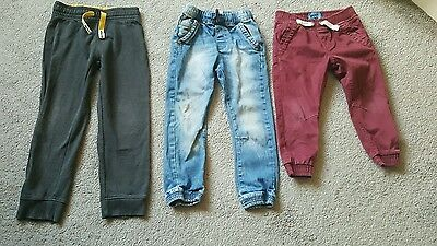 3 pairs boys trousers excellent condition
