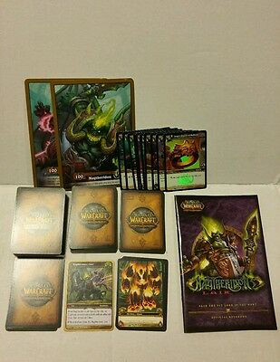 Warcraft  Magtheridons Raid Deck Fully Complete Great Condition