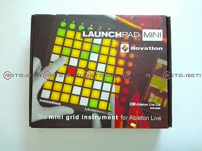 Novation LAUNCHPAD MINI MK2 Ableton Live Grid Controller MIDI 64 Multicolor Pads