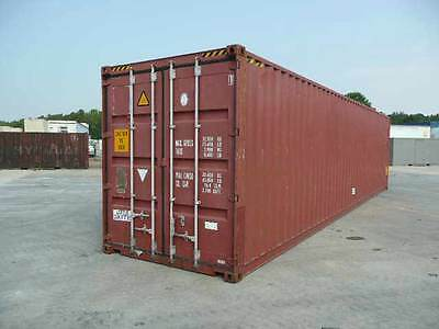 Cargo Worthy 40ft High Cube Shipping Container Ex Melbourne