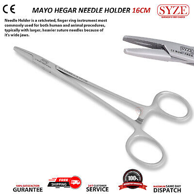 Dental Surgical Mathieu Needle & Mayo Hegar Holders Available In Single and Set