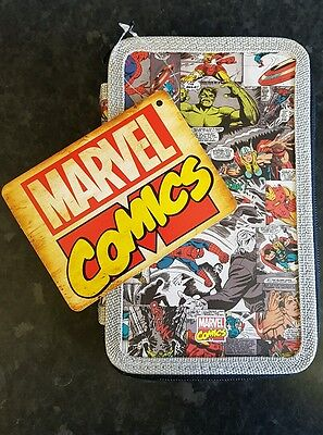 Marvel Comics Pencil Case and Stationery - New