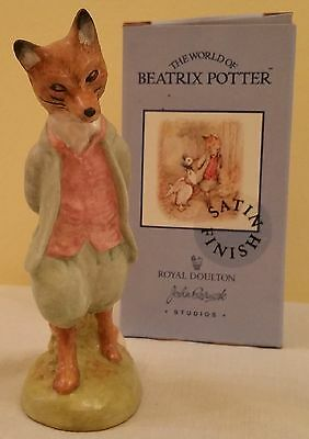 Beswick Beatrix Potter Foxy Whiskered Gentleman (Satin)