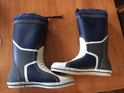 Gul Full Length Deck Boots Sailing Yacht Size 10