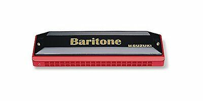 Suzuki Baritone Harmonica SBH-21 Key of C-sharp
