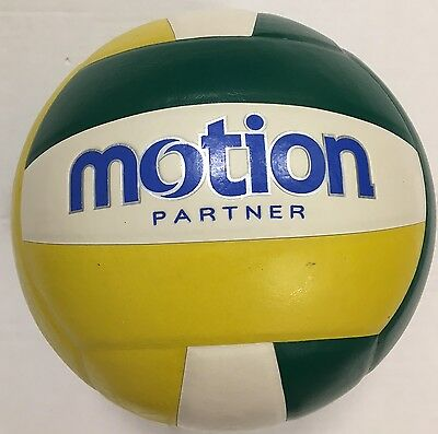 Volleyball Soft Touch Ball Official Yellow/Green/White Outdoor Indoor Game UK