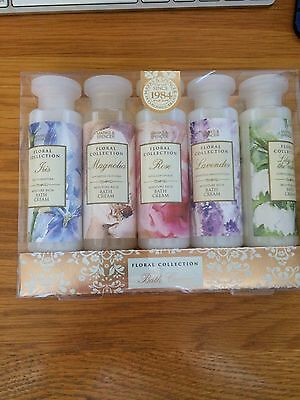 Marks & Spencer's Floral Collection Bath Creams - Brand New