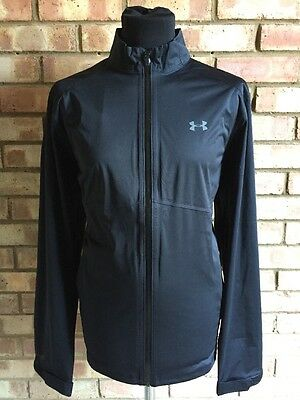 Under Armour Golf Storm 3 Waterproof Jacket 1281281 Black Clearance Large