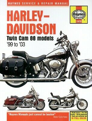 Harley Davidson FXDC 1450 Dyna Super Glide Custom 2005 Manuals - Haynes (Each)