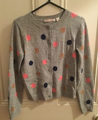 Country Road Girls Grey spot Cardigan - Size 12