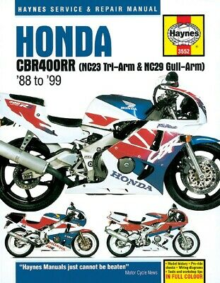 Honda CBR 400 R (Japan) 1986-1987 Manuals - Haynes (Each)