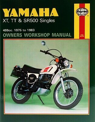 Yamaha XT 500 (Europe) 1976 Manuals - Haynes (Each)